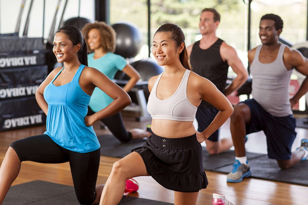 Group Exercise Improves Quality of Life, Reduces Stress, Study Finds