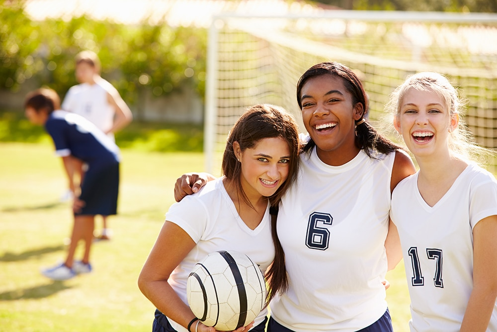Study: Symptoms of Sports-Related Concussions Linger Twice as Long for Adolescent Girls